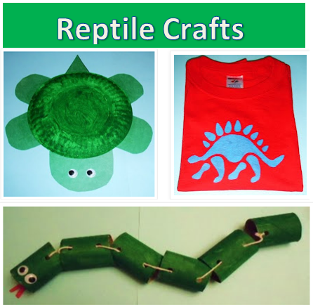 learning ideas grades k 8 fun reptile craft activities
