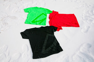hip snowboarding slim fit display