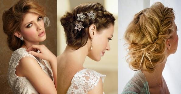 Peinados para bodas 2018 tendencias top para novias Bodas