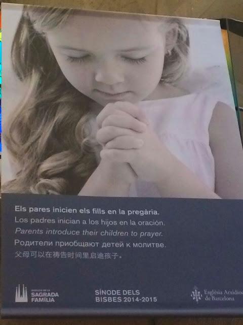 Teaching   La Sagrada Familia   Chichi Mary Blog
