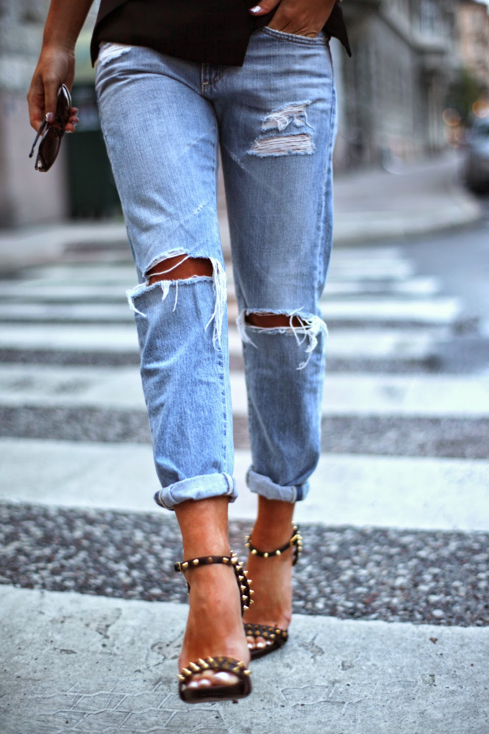 Boyfriend jeans: Outfit ideas | Nakedlydressed