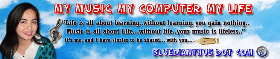 Bluedianthus Dot Com | My Music My Computer My Life