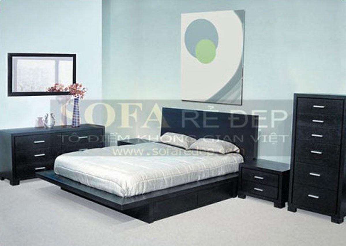 Giường ngủ GN021