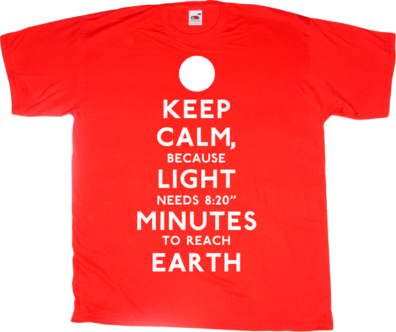 science cosmos fun sun earth t-shirt ephemeral-t-shirts