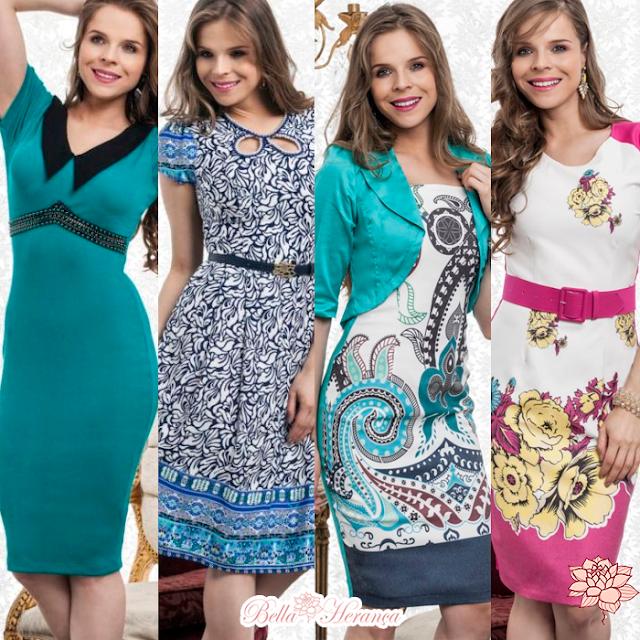 Vestidos lindos e práticos!