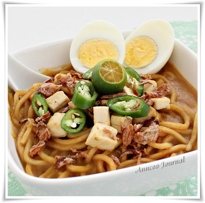 Mee Rebus - Anncoo Journal