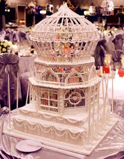 Sweet Cage Cake. Original Cake.