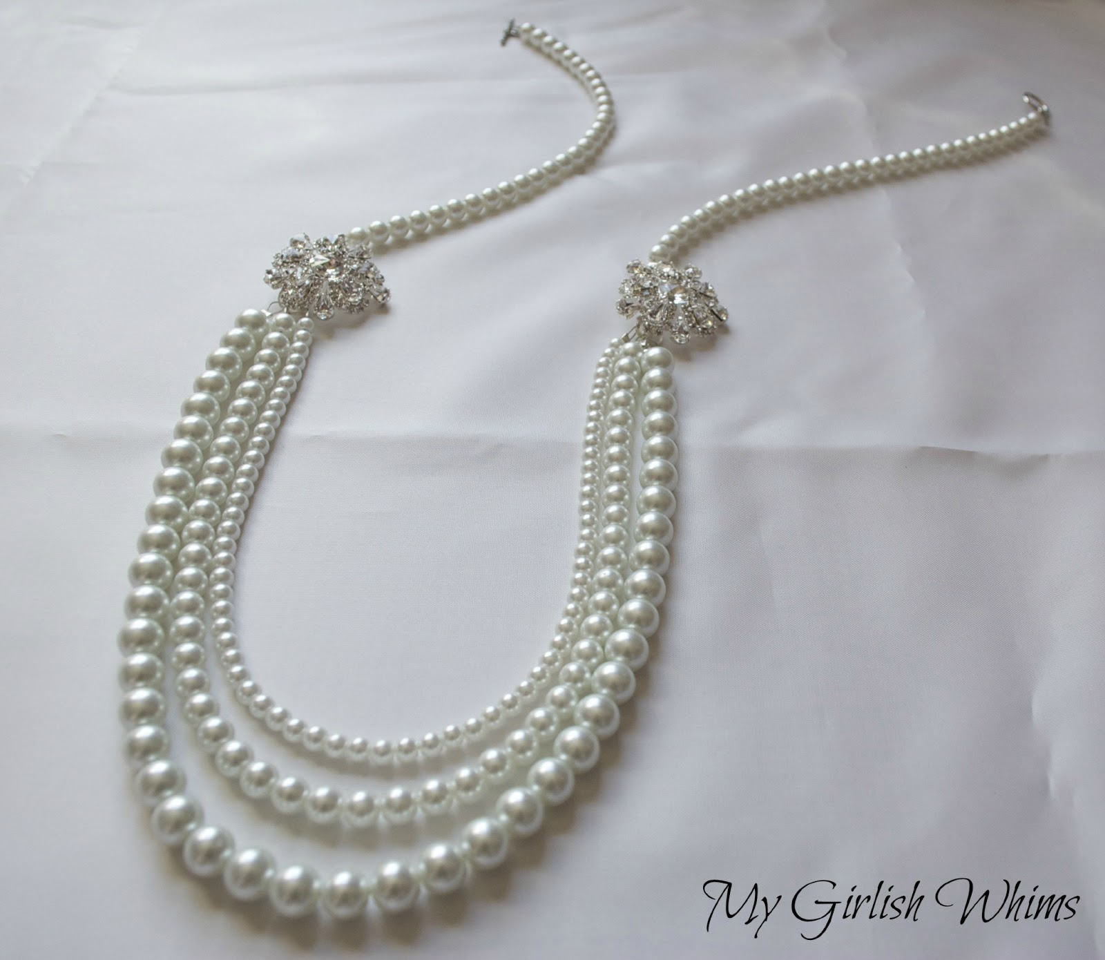 Elegant Pearl Wedding Necklace DIY with David Tutera Bridal My