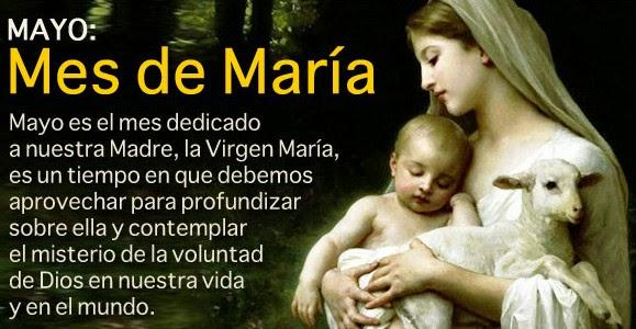 Mayo - Mes Virgen María