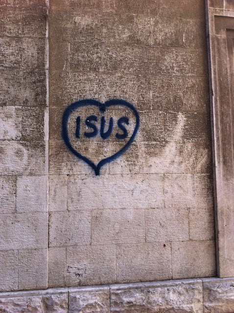 Graffiti, Split - 'Isus'