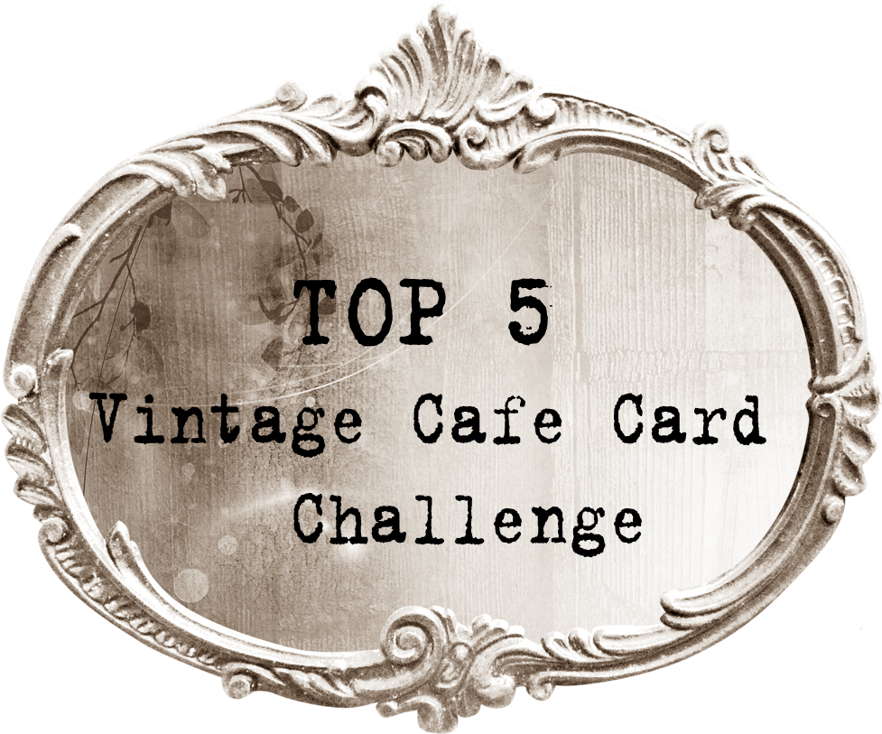 TOP 5 Vintage Cafe Card Challenge
