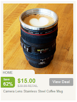Nomorerack Camera Lens Coffee Mug
