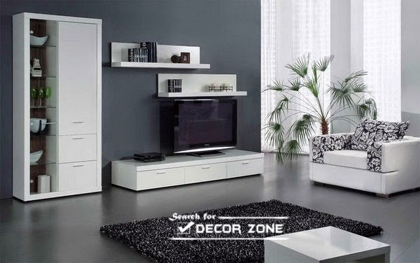 Modern tv units 20 designs and choosing tips for Minimalist lifestyle india
