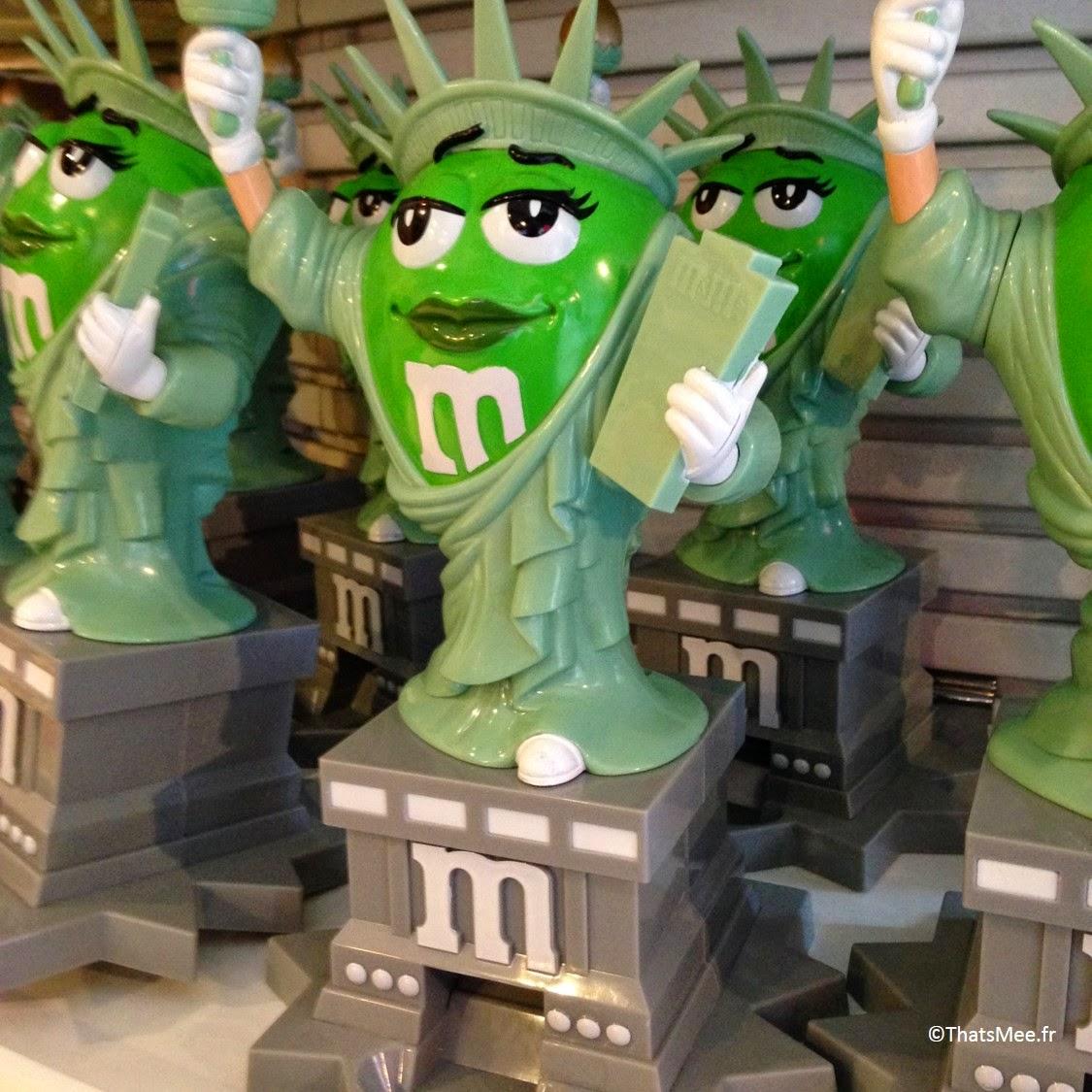 M&Ms Store, NY Times Square statue de la liberté