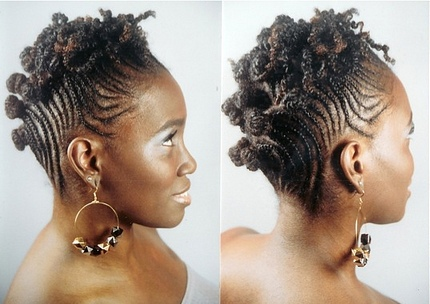 updo hairstyles for black women. elegant updo hairstyles for