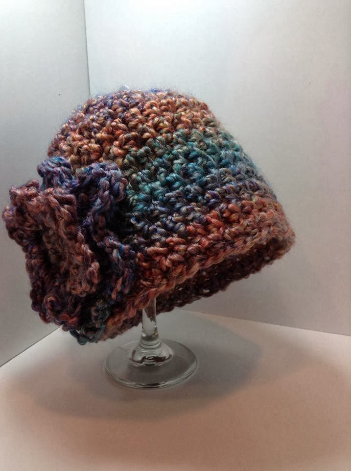 Homespun Yarn Crochet Patterns : HOMESPUN CROCHET HAT