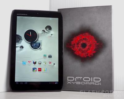 Motorola Droid Xyboard 8.2 Inchi Siap Beredar
