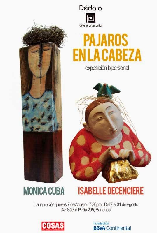 Pájaros en la cabeza - Mónica Cuba Isabelle Decencière
