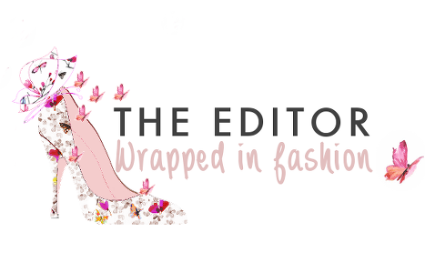 The Editor Wrapped In Fashion - by Vicky Pelo