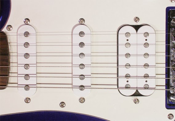 the physics of a guitar Guitar pickups and harmonic content the three sets of pickups shown for an electric guitar such as the fender stratocaster allow the player to adjust the quality of.