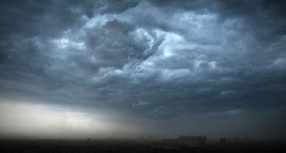 cloud thunder rain lightening