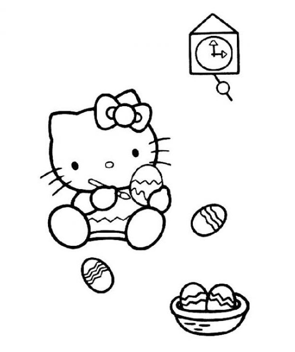Easter Coloring Pages And Activities Let S Celebrate Hello Easter Coloring Pages