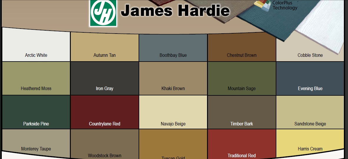 Hardi Plank Siding >> ColorScapes Professional Painting : Hardie Siding Colour Collection for 2012