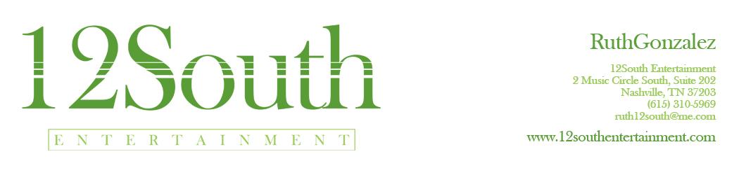 12 SOUTH ENTERTAINMENT - 12 So Ent - 12South Ent - 12 South Ent