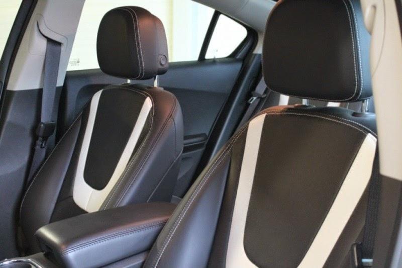 De Chevrolet Volt is voorzien van vele opties