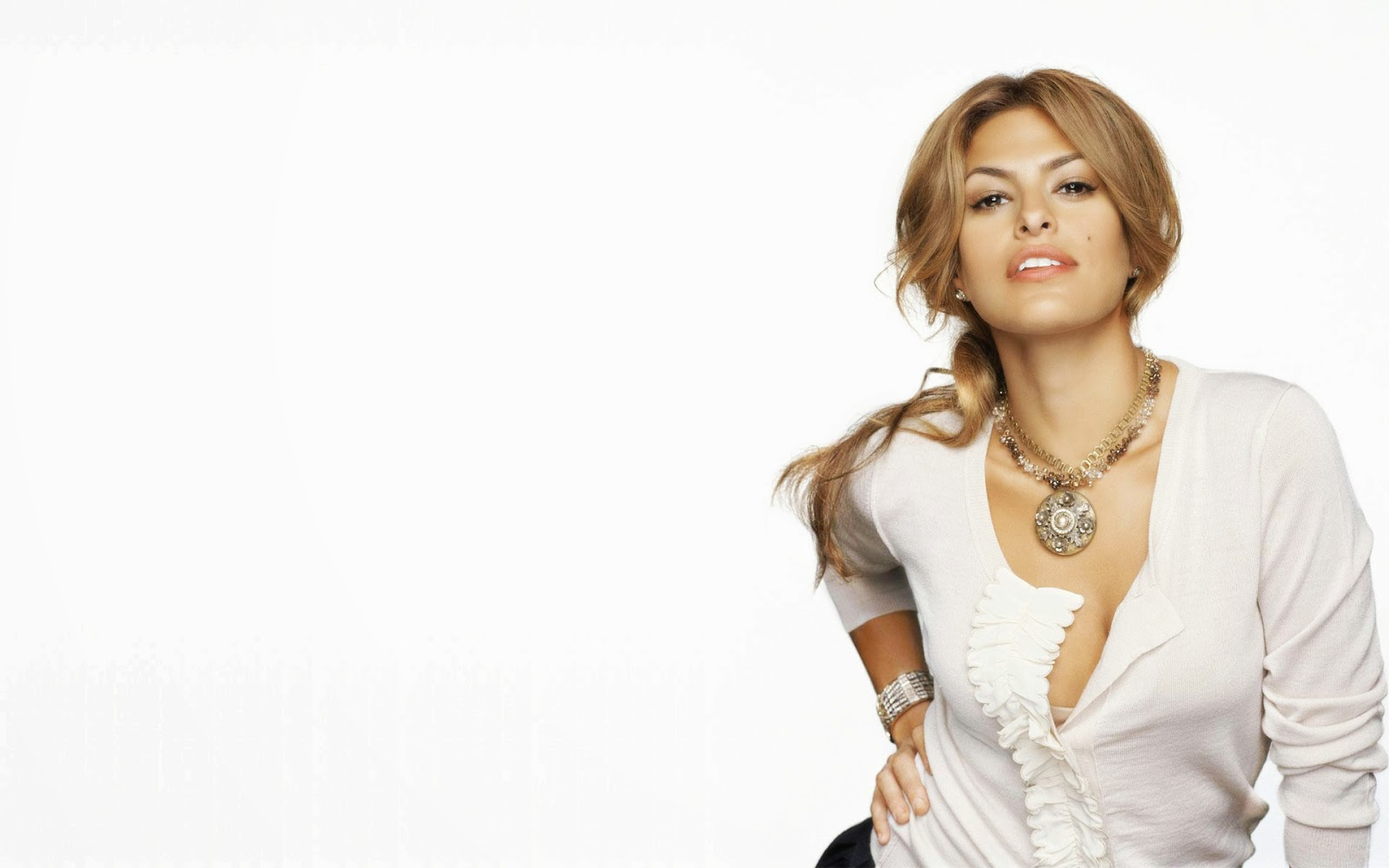 Eva mendes hot pose best desktop latest wallpaper