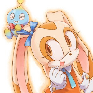 Cream The Rabbit and Chesse The Chao
