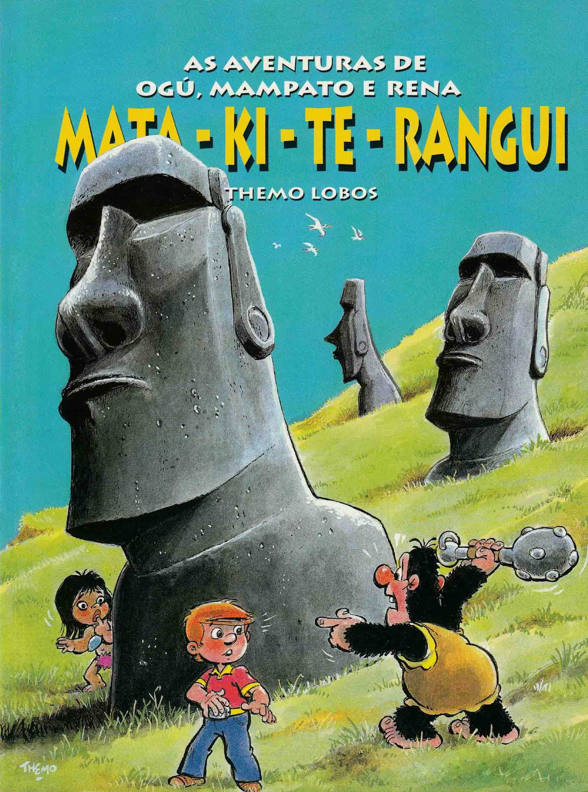 As Aventuras de Ogú, Mampato e Rena. Digitado DONCOMIC - Rest. ASantos