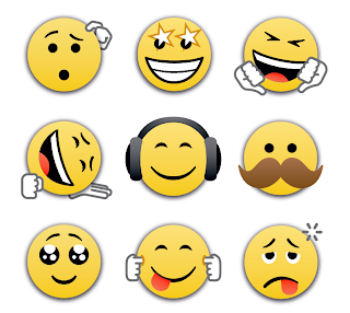 emoticon bbm 2.0 Android