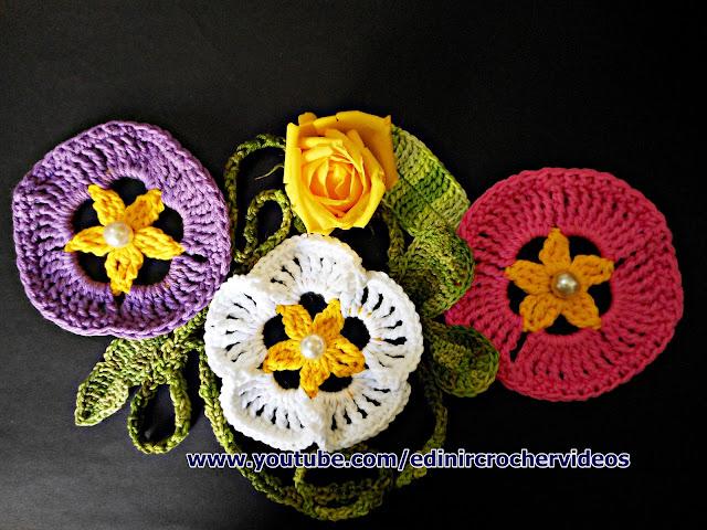 flores em croche para Phortos Howard Charles mosqueteiro serie tv aprender croche edinir-croche curso de croche