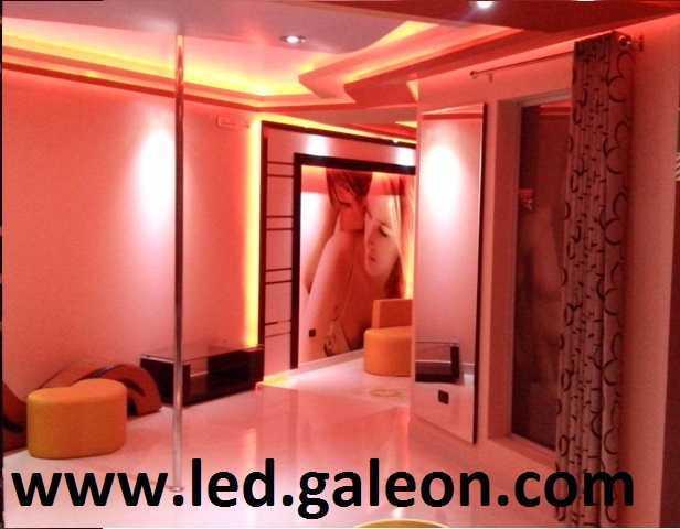 Led para iluminaci n en drywall y proyectores for Techos de drywall para dormitorios