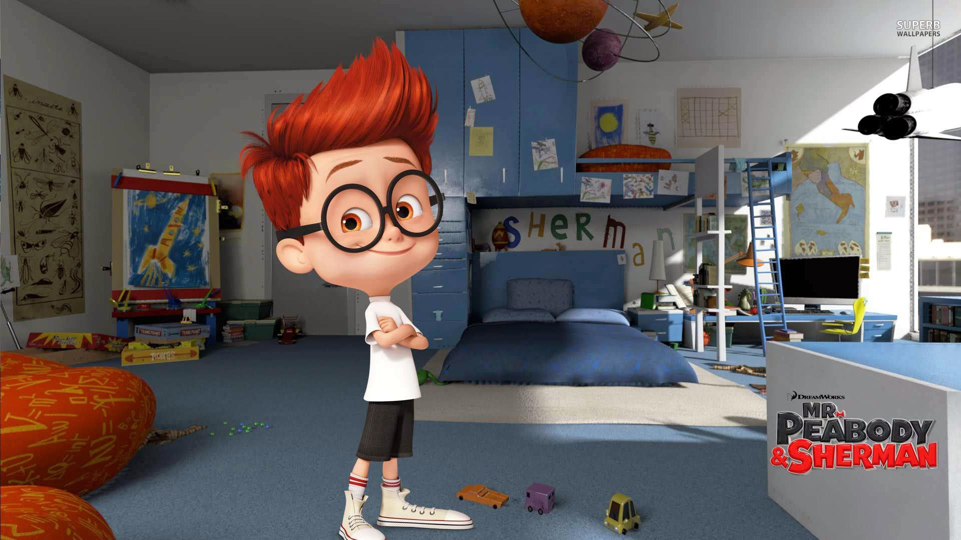 mr peabody and sherman movie 2014 hd wallpaper
