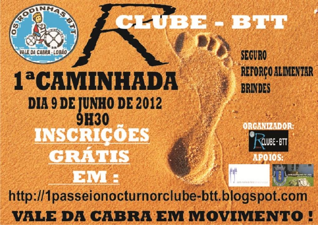 1ª CAMINHADA DO R CLUBE - BTT