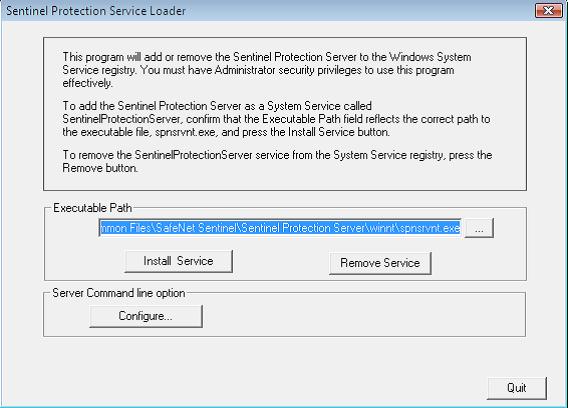 Opus Planet 005 Levantamiento del servicio Safe Net Sentinel