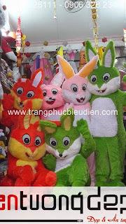 may bán thuê mascot con thỏ