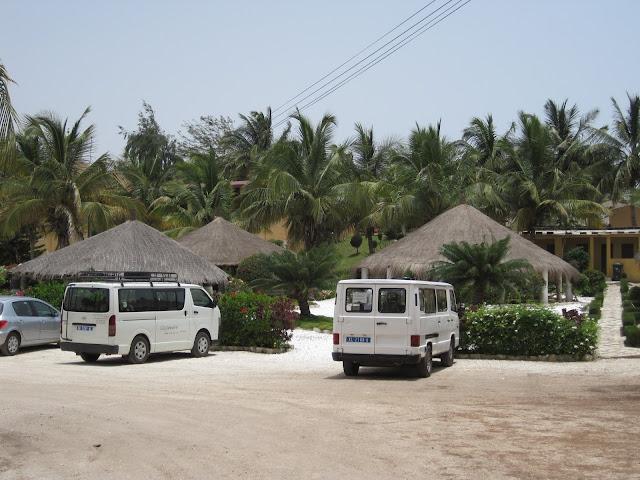 Complejos turísticos de El Lago Rosa en Senegal