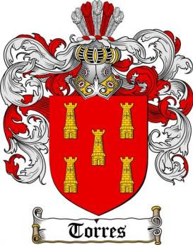 Torres Family Crest