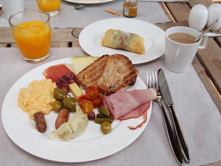 hotel arts barcelona breakfast