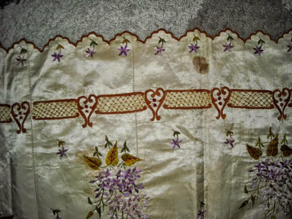 el işlemeleri,osmanlı el işlemeleri,antika el işlemeleri; yatak nakışları,yatak el işlemeleri, nakışlar