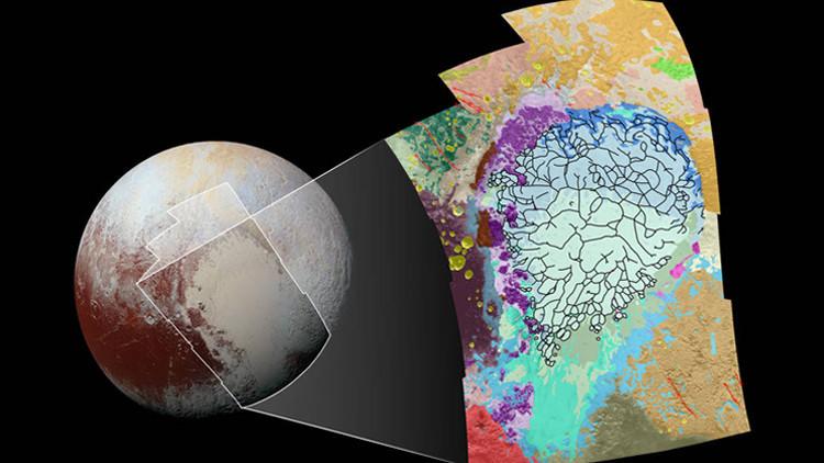 Los colores de Plutón.