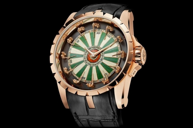 Luxury4men roger dubuis excalibur table ronde watch for Table ronde 8 personnes