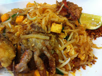 soft shell crab phat thai from Lerk Thai Restaurant @ Woodlands Civic Centre