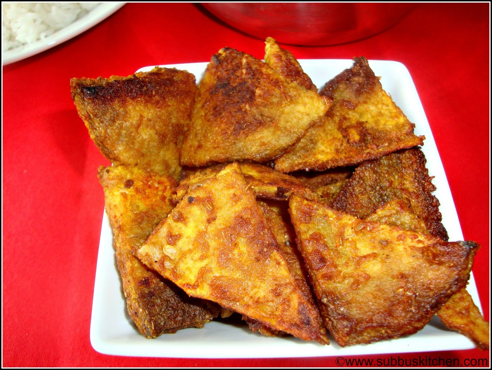 Senaikizhangu(Yam) Fry