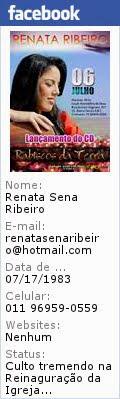 Clik na Imagem e acessem o meu  facebook Renata Ribeiro Rabiscos da Terra