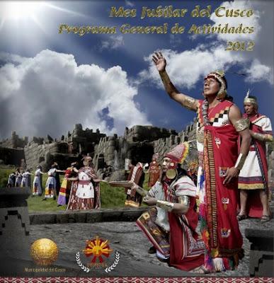 Afiche de Fiesta Raymi 2012