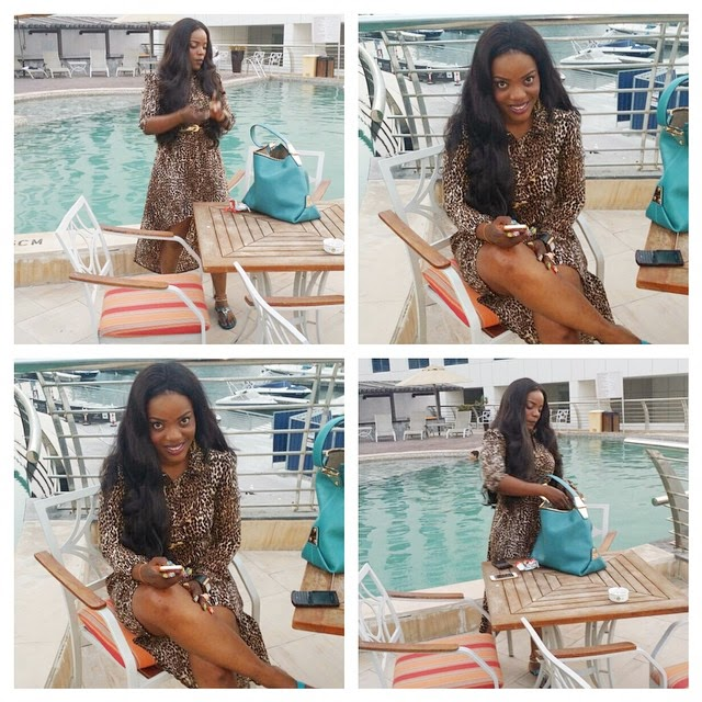 Empress Njamah on Vacation